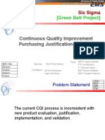 Six Sigma [Green Belt