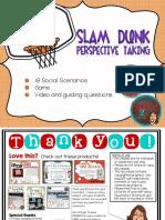 Slamdunk Perspective Taking Speech Therapy Pragmatics Social Language
