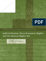 (Human Rights Law in Perspective  ) Ellie Palmer-Judicial Review, Socio-Economic Rights and the Human Rights Act (Human Rights Law in Perspective)-Hart Publishing (2007).pdf