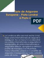 Piete de Asigurare Europene - Piata Londrei
