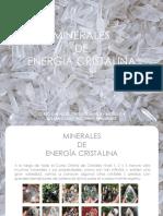 MODULO 4 - MINERALES DE ENERGÍA CRISTALINA