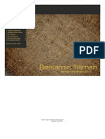 Benjamin Tillman - 2010 Resume + Portfolio