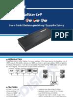 4K_HDMI_Splitter_1x4_MANUAL_EN_DE_GR