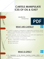 HOW CARTELS MANIPULATE PRICES OF OIL & GAS?