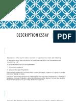 DESCRIPTION ESSAY.pptx