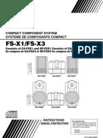 JVC CA F5X1