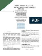 Consulta 03. Ecuaciones diferenciales (Rugen Kutta - Euler)