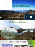 EL PÁRAMO DE SANTURBÁN