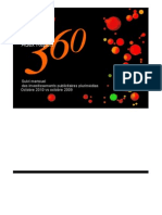Baromètre - Adex Report 360 Octobre 2010