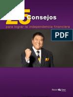 25 CONSEJOS PARA LOGRAR LA INDEPENDENCIA FINANCIERA
