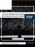 Rapport d'Aurore Bergé au Premier Ministre – Emancipation et inclusion culturelles - #culturepourtous
