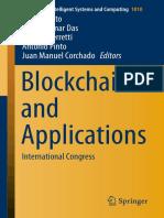 (Advances In Intelligent Systems And Computing Vol 1010) Javier Prieto, Ashok Kumar Das, Stefano Ferretti, António Pinto, Juan Manuel Corchado - Blockchain And Applications_ International Congress