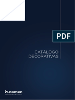 Catálogo Chapas Decorativas - Nomen