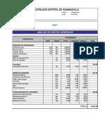 Presupuesto PRONOEI 24 de junio