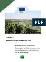 Leitfaden – Binnenschifffahrt und Natura 2000