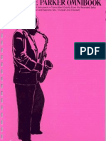 Charlie Parker Omnibook for Bb Instruments