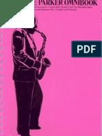 Charlie Parker Omnibook for Bb Instruments