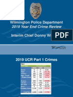 2019 Crime Update Chief Dw