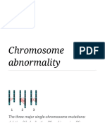Chromosome abnormality .pdf