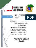 Informe Fisica I - Dinamo