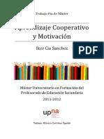 Aprendizaje cooperativo y motivación