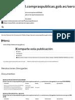RESOLUCIONES SERCOP DEROGADAS