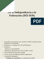 Formación del estado costarricense 1821-1849