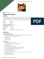 Cómo hacer Caldo de Camarón │Recetas de Comida Mexicana