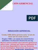INDUCCIÓN GERENCIAL