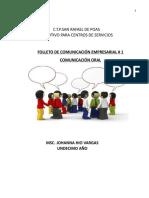 Antología de undécimo comunicación 2018