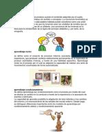 aprendizaje verbal