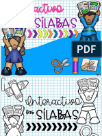 95.-Libro interactivo las sílabas