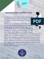 P. Dávila (Solución Para Meditar Más)