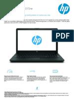 HP Laptop 15-da1015ne