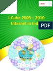 IMRB-IAMAI_ICube Market Research Report Sep 2009_India's Internet Market