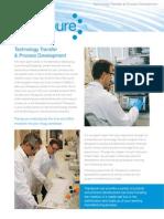 Technology Transfer and Process Development