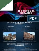 EL GÓTICO Y EL ROMANICO (2).pptx