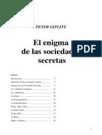 Peter Gitlitz - El Enigma de las Sociedades Secretas.pdf