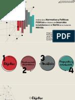 Presentación_Análisis de la Normativa y Políticas Públicas en Materia de Desarrollos Inmobiliarios en el Norte de la Ciudad de Mérida