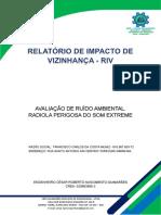 RELATÓRIO DE IMPACTO DE VIZINHANÇA - RIV