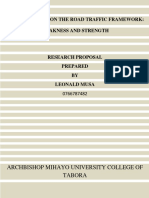 MUSA'S RESEARCH PROPOSAL