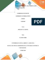 Fase 3 Identificar las principales características del Servicio