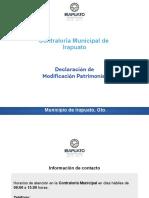 Declaración anual municipio