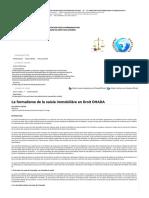 Le formalisme de la saisie immobilière en Droit OHADA