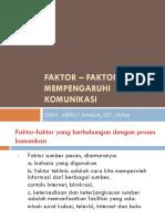 3. FAKTOR – FAKTOR YANG MEMPENGARUHI KOMUNIKASI.pptx