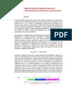 . DETERMINACIÓN DE CARBONATOS Y BICARBONATOS