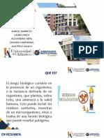 RIESGOS BIOLOGICOS  parasitologia y microbiologia