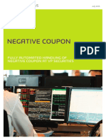 Automated handeling Negative Coupon
