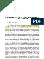 HART. O conceito de Direito. Cap. V. p. 92-112
