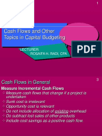 Lecture on Capital Budgeting - Other Topics